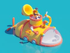 Submarine Animation designed by Christophe Zidler. Connect with them on Dribbble; the global community for designers and creative professionals. 3d Character, Character Concept, Concept Art, Character Design, Boat Cartoon, Cartoon Fish, Animation Stop Motion, 3d Animation, 3d Cinema