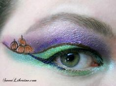 This is a beautiful look from Odin's Musing on Youtube usingWicked Scepter and Dirty Martini glitter eyeshadows. She also uses Baroness in the crease, Miranda