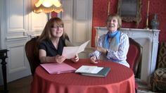 """Proust-Ink Proustiana's """"Cynthia Gamble and Mireille Naturel: Exclusive footage of Mireille Naturel and Cynthia Gamble in La Maison Tante Léonie inspecting and reading excerpts from previously unpublished letters of Marie Nordlinger, a friend and collaborator of Proust's translation of Ruskin.""""   (In French) By Nicolas Drogoul. (http://www.proust-ink.com/library/proustiana/16.html#)"""