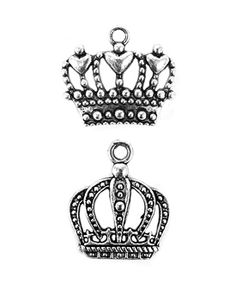 Complete a royal announcement these silver royal crown charms. Perfect for adding regal appeal to bouquet, centerpiece, stationery or wedding favors. The convenient small loop tab makes it easy for any. Wedding Party Favors, Diy Wedding, Wedding Gifts, Wedding Ideas, Wedding Details, Wedding Stuff, Wedding Favors Unlimited, Mini Glass Bottles, Wine Bottles