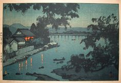 Woodblock print from Ronin Gallery