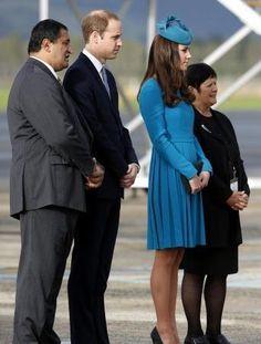 William & Kate in Dunedin, NZ. April 13, 2014