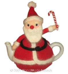 SANTA Claus Tea Cosy pdf Email CROCHET PATTERN. $4.50, via Etsy.