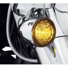 LED BULLET TURN SIGNAL INSERT KIT -AMBER LCS67800639 - LCS Motorparts