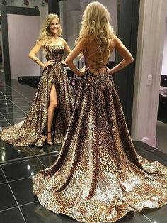Silhouette:A-line Neckline:Spaghetti Straps Hemline/Train:Sweep/Brush Train Sleeve Length:Sleeveless Embellishment:Print Back Details:Lace-up Fabric:Satin #Prom #Prom2k20 #prom2020 #promdresses #promdress #dresses #pageant #formal #formaldress #gowninspiration #gown #eveninggowns #nightgowns #promideas #promgoals #eveninggowns #annapromdress #fashion #promdresssexy #backlessdress #backlesspromdress #slitdress #slitpromdress