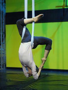 Aerial Yoga... this looks amazing