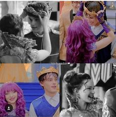 Ben and Mal Descendants Mal And Ben, Descendants Characters, Disney Channel Descendants, Descendants Cast, Cameron Boyce, Disney Couples, Movie Couples, Cute Couples, Mal And Evie