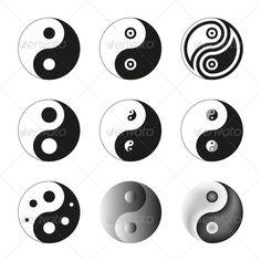 Yin Yang, Symbol of Balance and Harmony. Set  #GraphicRiver         Yin Yang, Symbol Of Balance And Harmony. Set. Editable Vector Illustration (EPS) and its Raster Version (JPG).     Created: 30April13 GraphicsFilesIncluded: JPGImage #VectorEPS Layered: No MinimumAdobeCSVersion: CS Tags: arts #balance #black #buddhism #chinese #east #ethnic #harmony #icon #isolated #japan #japanese #kungfu #martial #meditation #mind #opposite #relaxation #religion #sign #soul #spiritual #stylised #symbol…