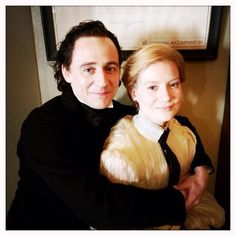 Tom Hiddleston tweeted this♥ #CreamsonPeak this photo was taken on the last day of the set *___*
