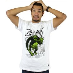 T-Shirt Zoo York Kingorilla white ★★★★★