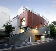 kindergarten architecture design   concrete terracotta   seoul