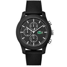Relógio Lacoste Masculino Borracha Preta - 2010821