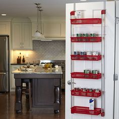 Household Essentials Over Door 6-Basket Organizer
