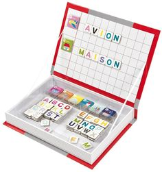 Janod - Magnetic Book Alphabet. Such a handy learning set #EntropyWishList #PinToWin