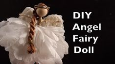 how to make a wire fairy doll - YouTube