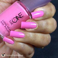 Oriflame The One Long Wear Nail Polish Strawberry Cream| preciouspearlmakeup