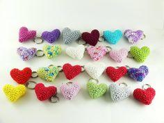 Návod na háčkované srdíčko - Pletanky Crochet Necklace, Heart, Crochet Collar