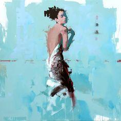"Saatchi Art Artist Yves Fièvé; Painting, ""Essayage (tryout)"" #art"