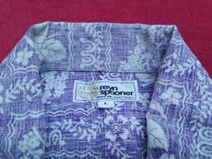 Hey, I found this really awesome Etsy listing at https://www.etsy.com/listing/176550945/vintage-70s-reyn-spooner-hawaiian-shirt
