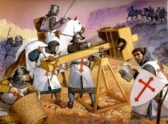 Asedio cruzado.