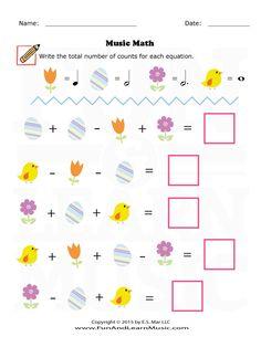 Easter – Music Math