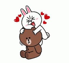 The perfect ConyAndBrown Hug BearHug Animated GIF for your conversation. Discover and Share the best GIFs on Tenor. Cute Couple Cartoon, Cute Love Cartoons, Cute Cartoon, Line Cony, Gif Lindos, Cony Brown, Brown Bear, Bear Gif, Hug Gif