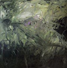 """paintedout: """" Gerhard Richter, Untitled (Green) """""""