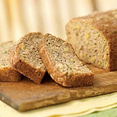 Zucchini-Pineapple Quick Bread from Cooking Light. LOVE this recipe.