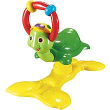 I think BabySam would like this.  Vtech Jungle Gym Bouncing Colors Turtle
