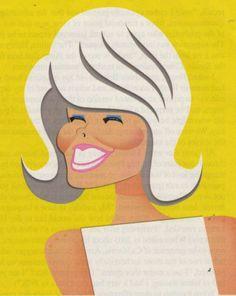 Doris Day by Risko