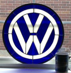 StainedGlassville Art Glass Forums - Volkswagon Logo