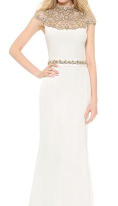Stunning Reem Acra Silk Gown http://rstyle.me/n/fxkicr9te