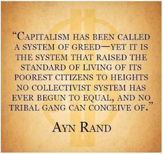 Tri Cities On A Dime: THOUGHT FOR THE DAY - CAPITALISM