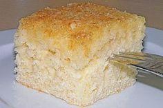Kokos - Buttermilch - Kuchen, ein sehr schönes Rezept aus der Kategorie Kuchen. Bewertungen: 180. Durchschnitt: Ø 4,6.