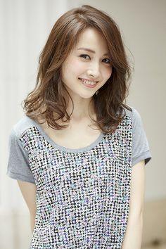 ヘアカタログ Japanese Beauty, Asian Beauty, Beautiful Asian Girls, Crochet Top, Hair Beauty, Hair Styles, Model, Free, Fashion