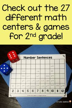 Grade Place Value Math Centers 2nd Grade Classroom, 2nd Grade Math, Grade 2, Classroom Ideas, Activity Centers, Math Centers, Math Games, Math Activities, Homework Station