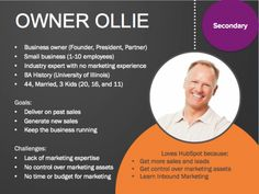 Persona: Owner Ollie | HubSpot