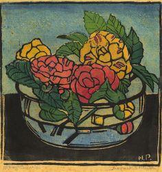 Camellias by Margaret Preston Henri De Toulouse Lautrec, Australian Painting, Australian Artists, Gustav Klimt, Margaret Preston, Linocut Prints, Art Prints, Art Thou, Flower Art