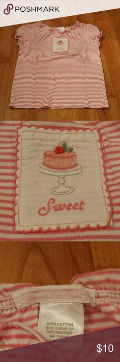 Janie and Jack short sleeve shirt Janie and Jack short sleeve size 3 shirt. Made of 100% cotton. Janie and Jack Shirts & Tops Tees - Short Sleeve