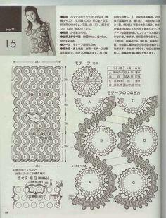 TRICO y CROCHET-madona-mía: Encaje de Brujas con patrones de ganchillo