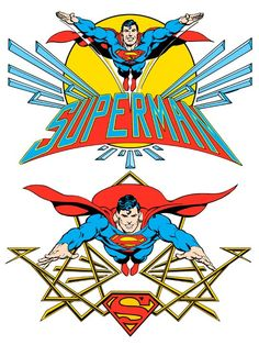 Superman by José Luis García-López from the 1982 DC Comics Style Guide