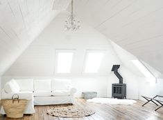 Project Attic Update – Our White Shiplap Attic Family Room