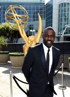 Sometimes it feels like staring into the sun.   Literally Just 27 Pictures Of Idris Elba
