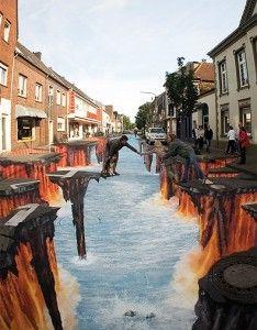 chalk artist Edgar Mueller