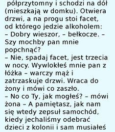 """Huśtniem bo uśniem."" :) - Zgrywne.pl - Humor i Sentencje Math Equations, Humor, Humour, Moon Moon, Funny Humor, Lifting Humor, Chistes, Funny Jokes"