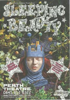 Poster of Sleeping Beauty   in Perth Theatre 's Pantomime Friday 9th December  2005- Saturday7th January 2006