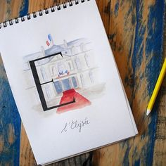 Cette semaine, on visite l'Elysée avec notre Abécédaire Parisien !  This week, we go to Élysée with our parisian alphabet 🇫🇷 • • • • #abc_calligraphique #parisabecedaire #abecedaire #aquarelle #watercolor #croquis #dessin #drawing #artofinstagram #illustration #illustrationoftheday #sketch #doodle #artwork #creative #alphabet #lettre #typo #capitalroman #igersParis #ParisJeTaime #ParisMaVille #Parisianlife #VieParisienne #visitParis #VilleDeParis  #elysee #president #houseofpresident Roman, Paris Ville, We, Alphabet, Drawing, Illustration, Artwork, Books, Knots