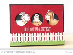 My Favorite Things green pastures card ideas - Google Search
