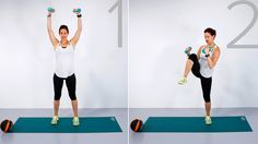 Tone your abs and arms in 10 minutes with this circuit workout
