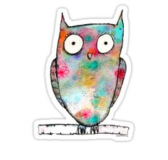 """""""Owl"""" Stickers by sparklehen 